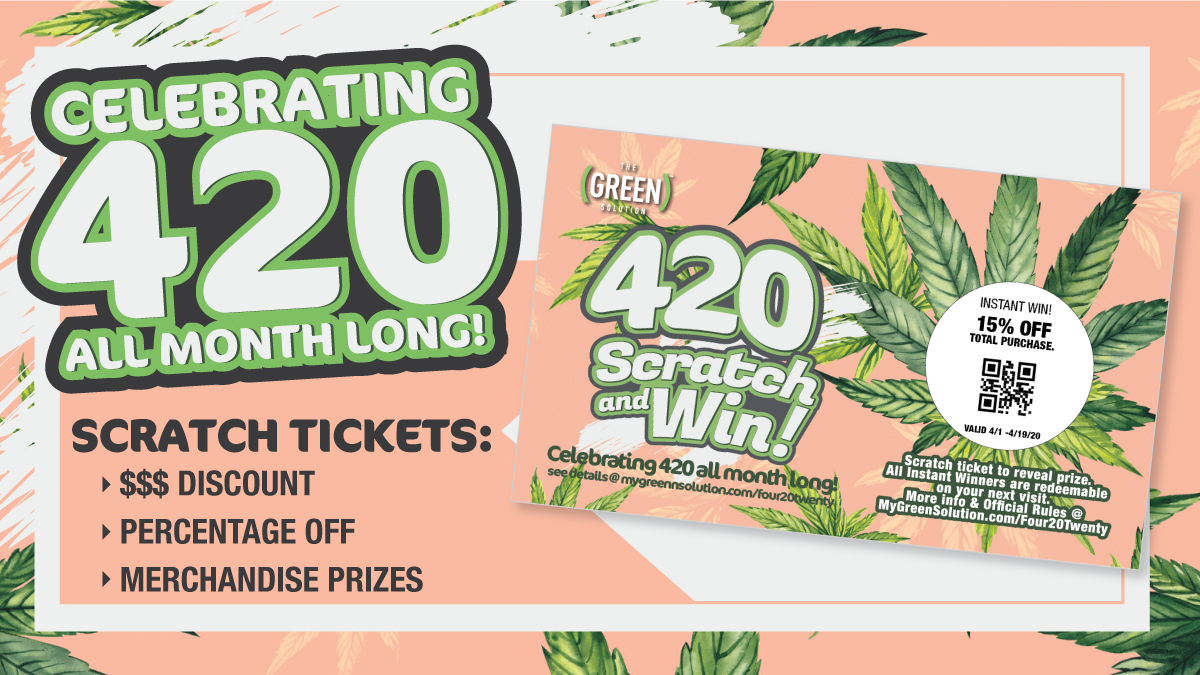 The Green Solution - 420 Giveaway