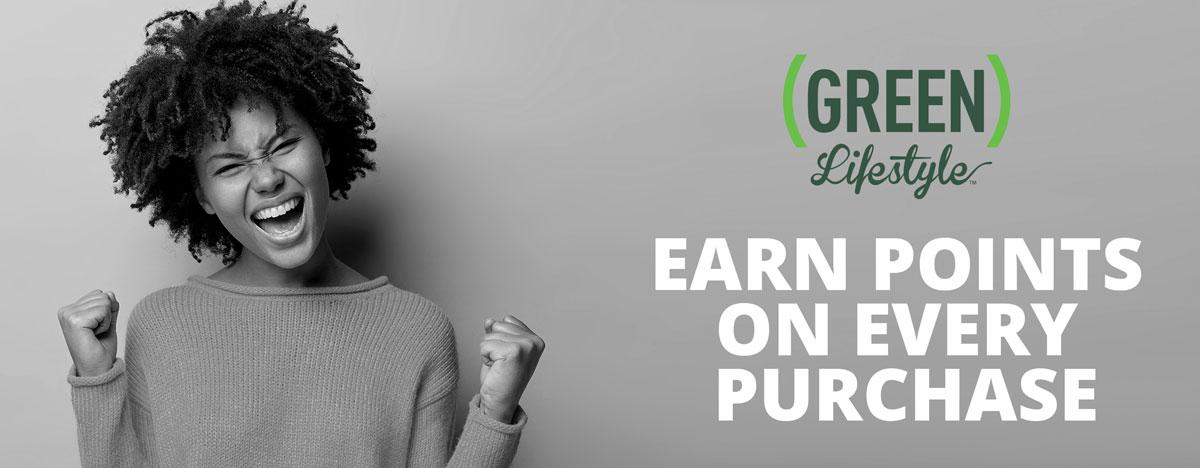 The Green Lifestyle Perks Program Logo