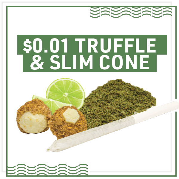 Enter for a chance to win Truffles or Slim Cones for a penny. Terms and Conditions apply. See below for more details.