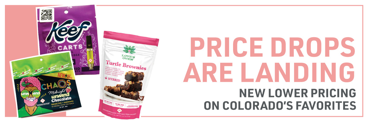 Web Banner: Price Drops are here on Colorados favorites