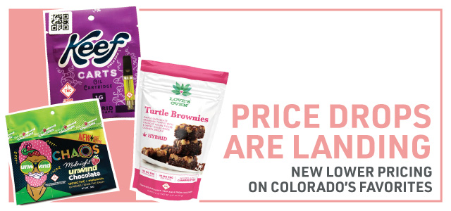Web Banner: Price Drops are here on Colorados favorites.