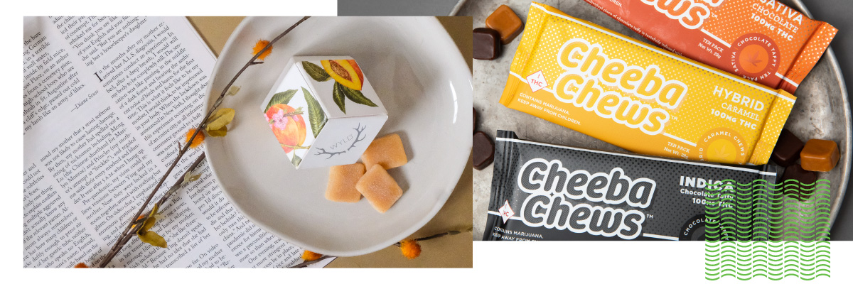 banner image featuring wyld and cheeba chews products