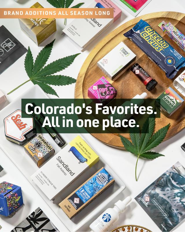 Colorado's Favorites, all in one place: new brand additions are happening all season long.