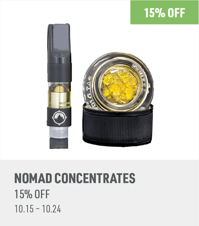 15% off Nomad products
